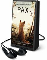 Cover image for Pax [Playaway]
