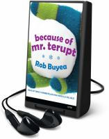 Cover image for Because of Mr. Terupt. bk. 1 Mr. Terupt series