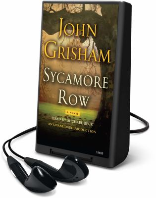 Cover image for Sycamore row. bk. 2 a novel : Jake Brigance series