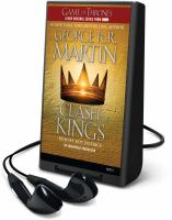 Cover image for A clash of kings. bk. 2 A song of ice and fire series