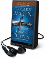 Cover image for A game of thrones. bk. 1 A song of ice and fire series