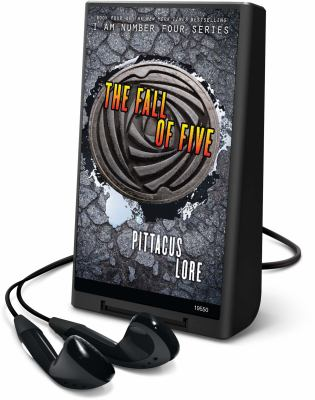 Cover image for The fall of five. bk. 4 [Playaway] : Lorien legacies series