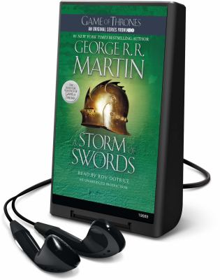 Cover image for A storm of swords. bk. 3 A song of ice and fire series