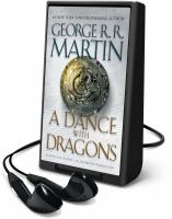 Cover image for A dance with dragons. bk. 5 A song of ice and fire series