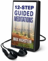 Cover image for 12-step guided meditations deep support for your recovery