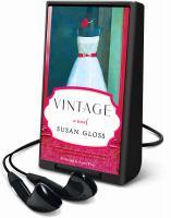 Cover image for Vintage a novel