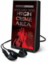 Cover image for High crime area [Playaway] : tales of darkness and dread
