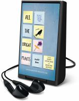 Cover image for All the bright places [Playaway] : a novel