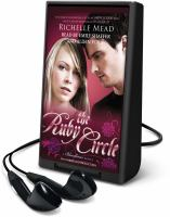 Cover image for The ruby circle. bk. 6 [Playaway] : Bloodlines series