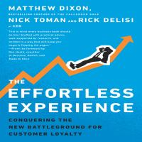 Cover image for The effortless experience conquering the new battleground for customer loyalty
