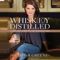 Cover image for Whiskey distilled a populist guide to the water of life