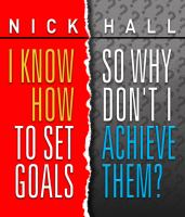 Imagen de portada para I know how to set goals, so why don't I achieve them?