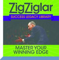 Cover image for Master your winning edge zig ziglar success legacy library