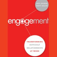 Imagen de portada para Engagement transforming difficult relationships at work