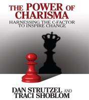 Cover image for The power of charisma harnessing the c-factor to inspire change
