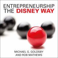 Cover image for Entrepreneurship the Disney way