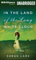 Cover image for In the land of the long white cloud [sound recording MP3]