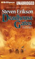 Cover image for Deadhouse gates. bk. 2 Tale of the Malazan. Book of the Fallen series