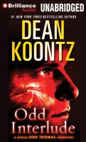 Cover image for Odd interlude a special Odd Thomas adventure