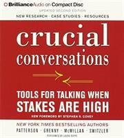 Cover image for Crucial conversations Tools for talking when stakes are high