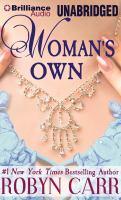 Imagen de portada para Woman's own [sound recording CD]