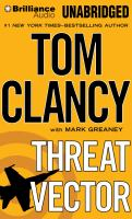 Cover image for Threat vector. bk. 15 Jack Ryan series