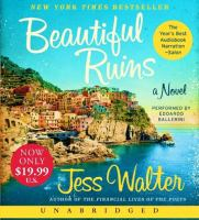 Cover image for Beautiful ruins a novel