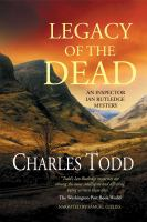 Cover image for Legacy of the dead. bk. 4 [sound recording CD] : Ian Rutledge
