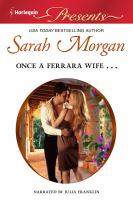 Cover image for Once a Ferrara wife--