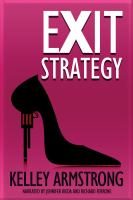 Cover image for Exit strategy. bk. 1 [sound recording CD] : Nadia Stafford series