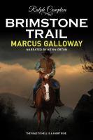 Cover image for Ralph Compton brimstone trail