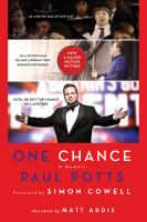 Cover image for One chance a memoir