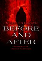 Cover image for Before and after a novel
