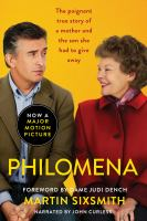 Cover image for Philomena [sound recording CD] : a mother, her son, and a fifty year search