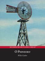 Cover image for O Pioneers!