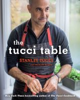 Cover image for The Tucci table : cooking with family and friends