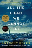 Cover image for All the light we cannot see [eBook] : a novel