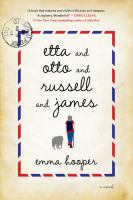 Cover image for Etta and Otto and Russell and James