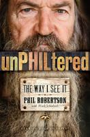 Cover image for UnPHILtered : the way I see it
