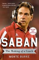 Cover image for Saban : the making of a coach
