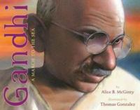 Cover image for Gandhi : a march to the sea