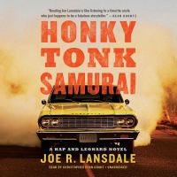 Cover image for Honky Tonk Samurai. bk. 11 [sound recording CD] : Hap and Leonard series