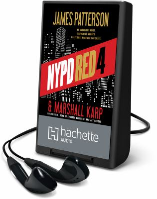 Cover image for NYPD Red. 4 [Playaway] : NYPD Red series