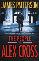 Cover image for The people vs. Alex Cross. bk. 25 [sound recording CD] : Alex Cross series