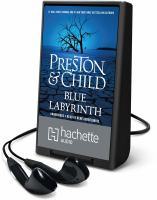 Cover image for Blue labyrinth. bk. 14 [Playaway] : Pendergast series