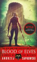 Cover image for Blood of elves. bk. 1 [sound recording CD] : Witcher series
