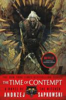 Cover image for The time of contempt. bk. 2 [sound recording CD] : Witcher series
