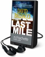 Cover image for The last mile. bk. 2. [Playaway] : Amos Decker series