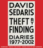 Cover image for Theft by finding Diaries (1977-2002).