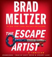 Cover image for The escape artist [sound recording CD]